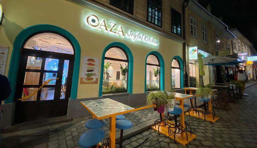 OAZA – New vegan fast-food restaurant in Zagreb