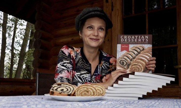 The first cookbook of Croatian desserts in English released