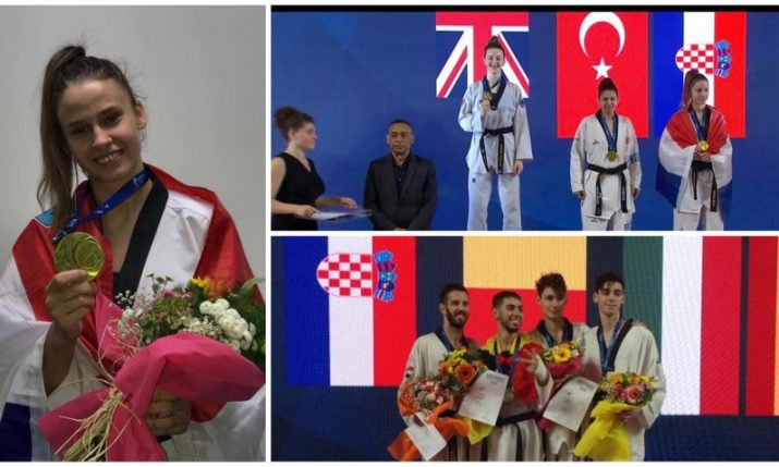 2019 European Taekwondo Championships: Croatia wins 3 medals