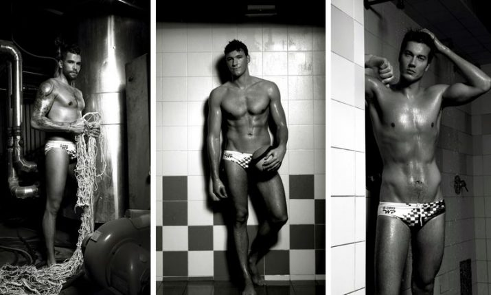 PHOTOS: Croatia water polo team strips for annual calendar