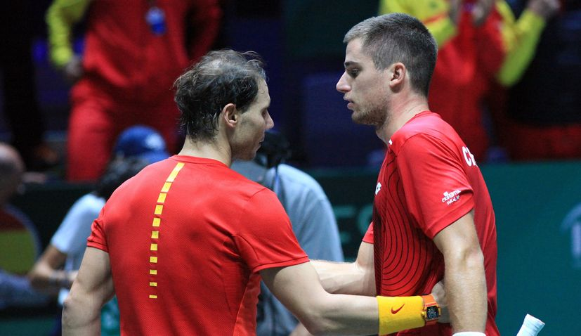 Davis Cup Final: Nadal leads Spain to victory over Croatia