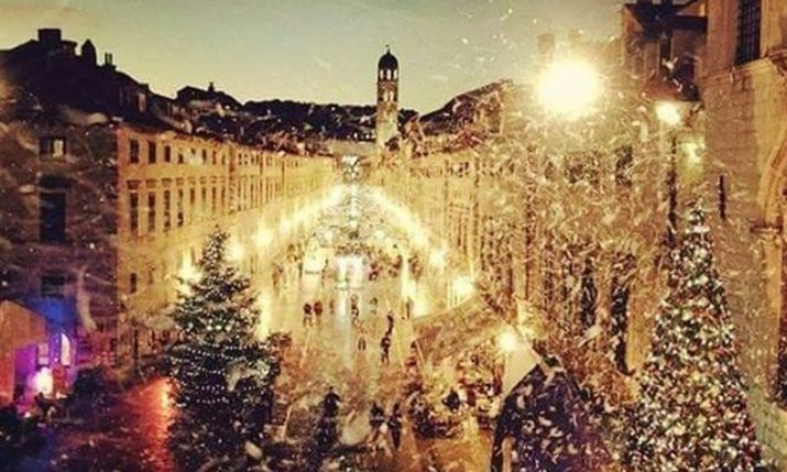 A magical winter in Dubrovnik