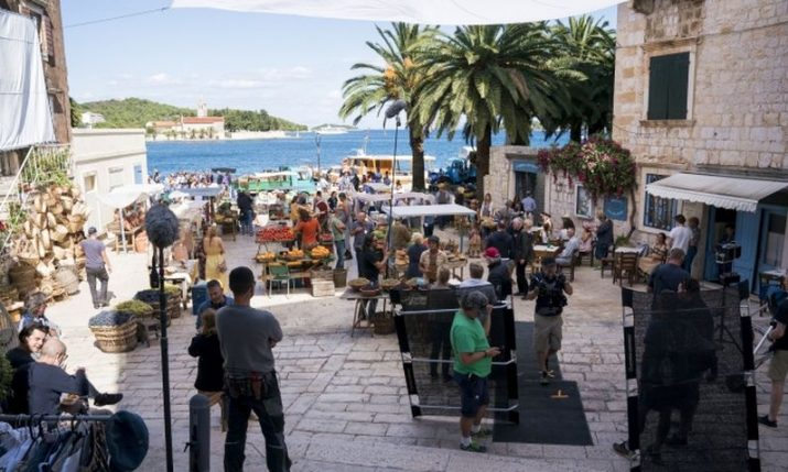 €134 million earned from international film productions in Croatia