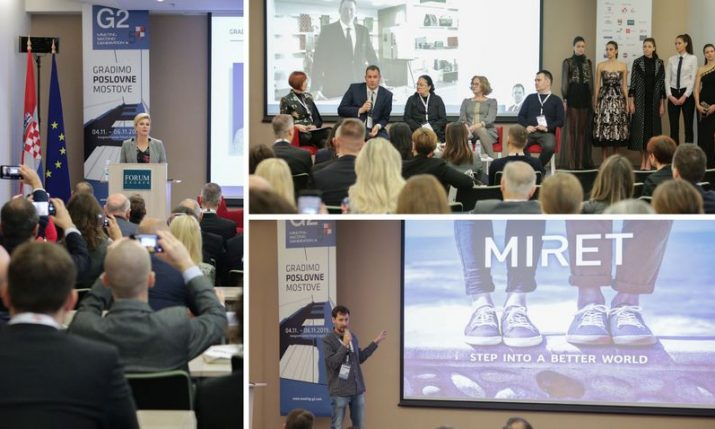 PHOTOS: Conference connecting Croatians abroad with people & business opportunities in Croatia opens