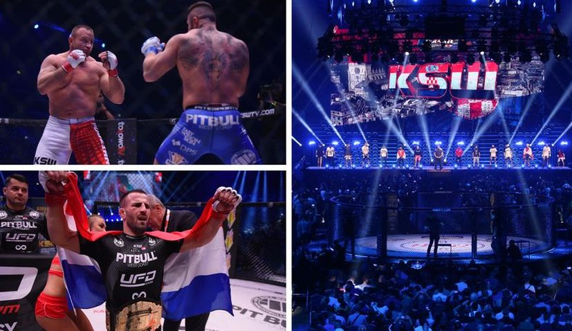 PHOTOS: First KSW event in Croatia attracts 11,000 MMA fans