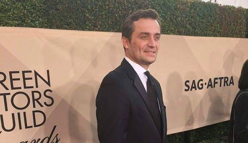 Marino Radakovic at the SAG Awards (Private album)