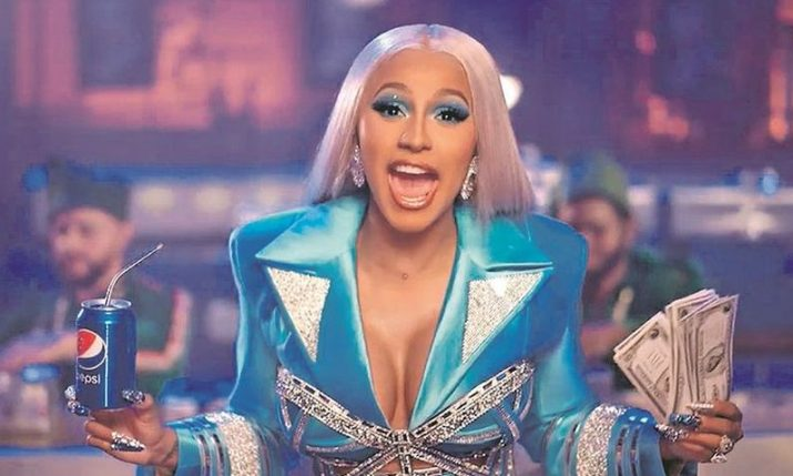 Croatian designer dresses Cardi B for new Pepsi Christmas commercial