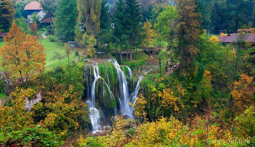 WATCH: Autumn beauty of Rastoke waterfalls