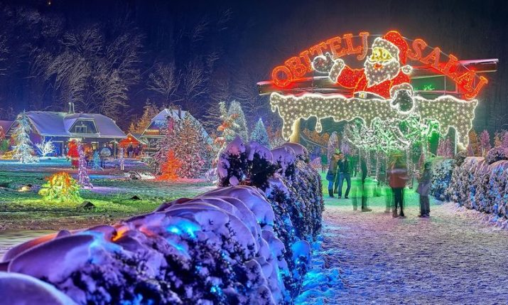 Record 5 million lights at Salajland Christmas Park this season