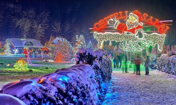 SalajLand: Everything ready for winter wonderland in Čazma