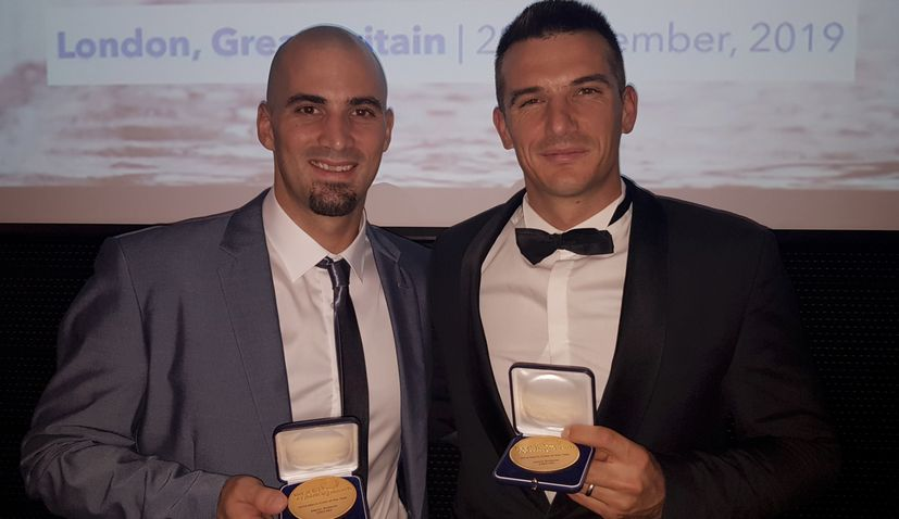 Sinkovic brothers win World Rowing Men's Crew of the Year award