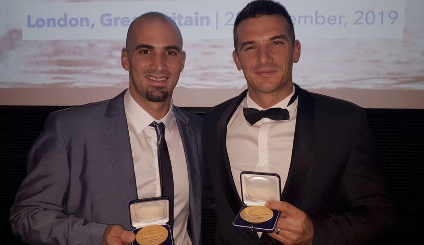 Sinkovic brothers win World Rowing Men's Crew of the Year award