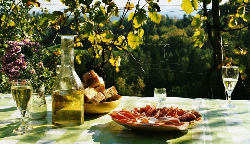Croatians drink wine