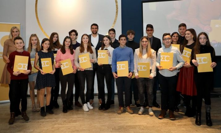 Marin Cilic Foundation awards 22 scholarships to talented athletes and musicians