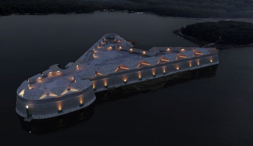 Reconstruction to make St Nicholas' Fortress world-renowned