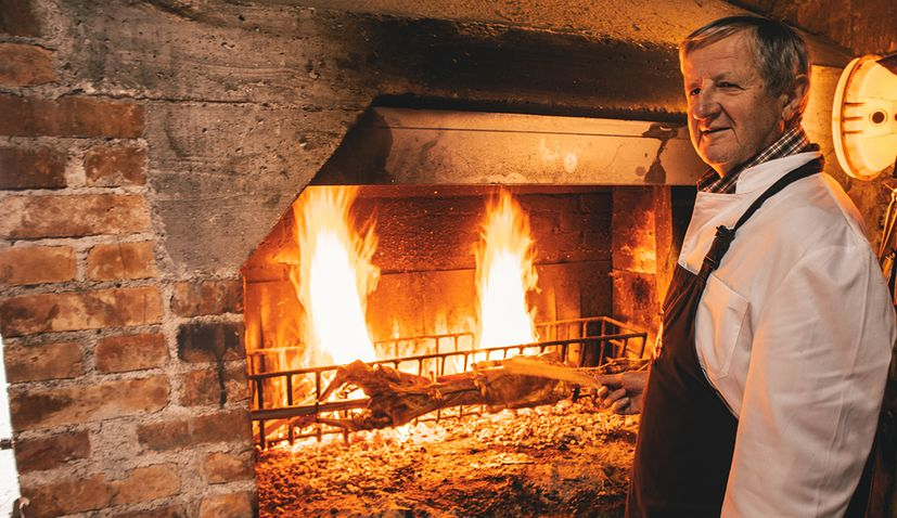 Chef reveals how to make the best lamb on the spit