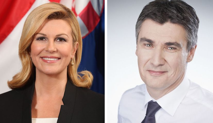 Grabar-Kitarovic & Milanovic in runoff for Croatian presidency