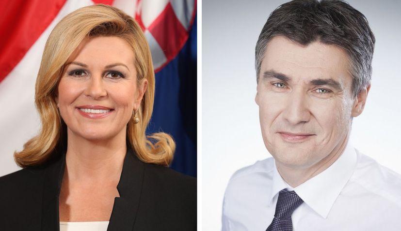 Grabar-Kitarovic & Milanovic in runoff for Croatian presidency