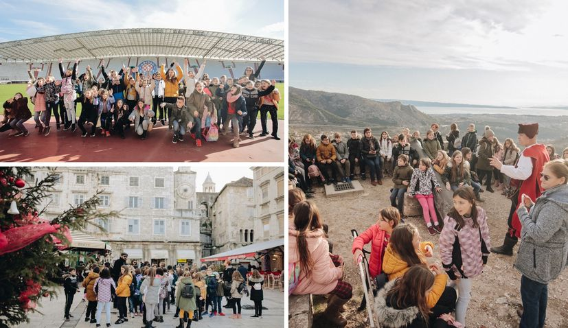 Christmas in Split for Vukovar kids