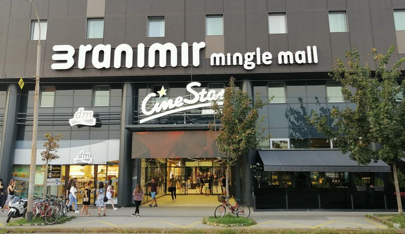 Branimir Mingle Mall officially opens in Zagreb