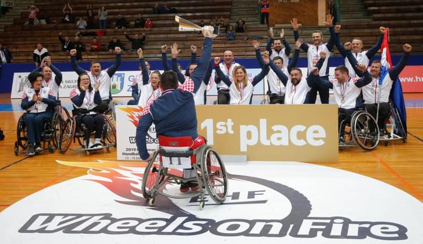 Croatia wins European Wheelchair Handball gold