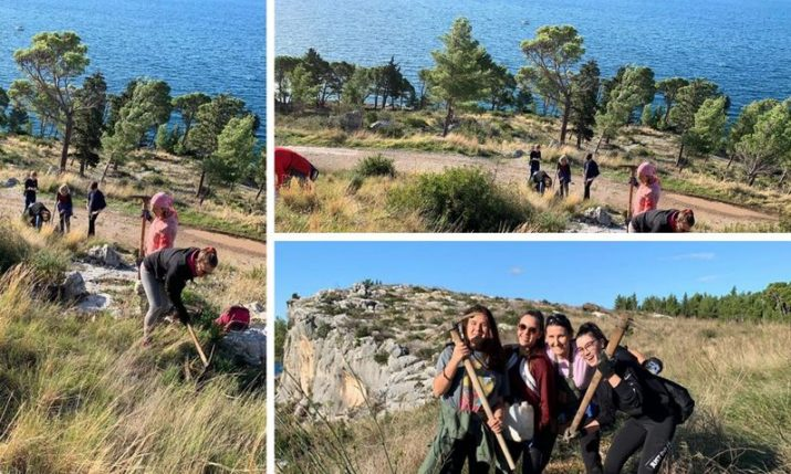 Reforesting Dalmatia: 1100 trees planted in Makarska on Saturday