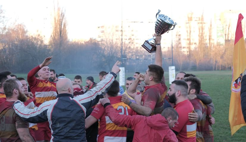 Mladost become Croatian rugby champions for first time