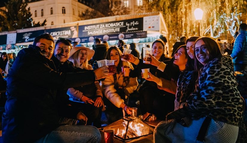 New Year's Eve: Croatian bands, food & more in Zagreb's Strossmayer Square