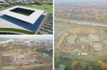 VIDEO: Construction of impressive new football stadium in Osijek on track
