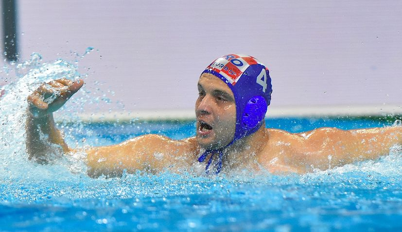 Croatia thrash Germany to open European Water Polo Champs