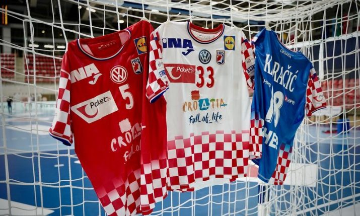 Croatia unveil new kit for European Handball Championships