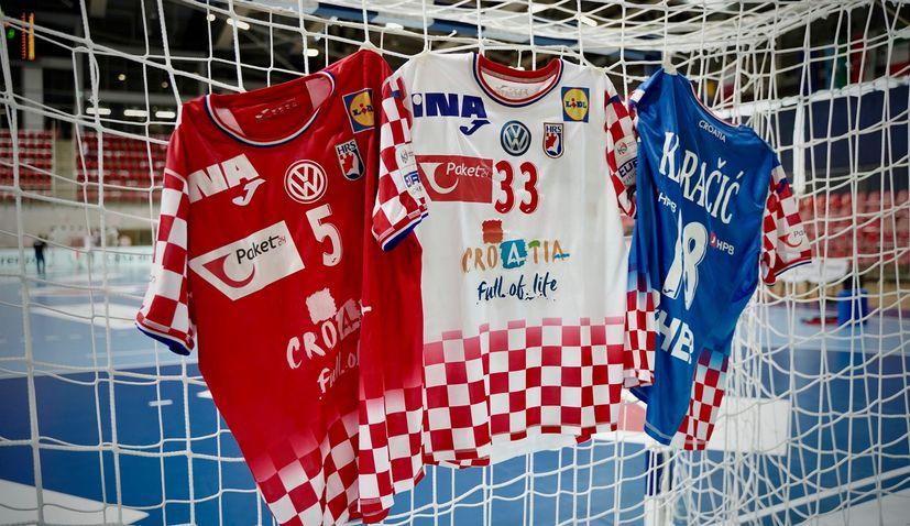 Croatia unveil new kit for European Handball Championships