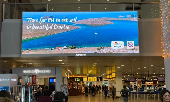 PHOTOS: Croatia being promoted around Brussels
