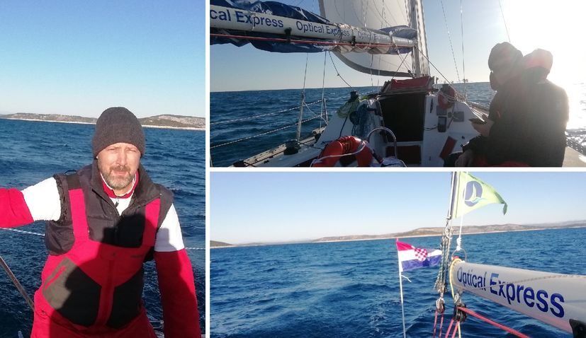 Two Croats embark on humanitarian sail from Sibenik to Brazil