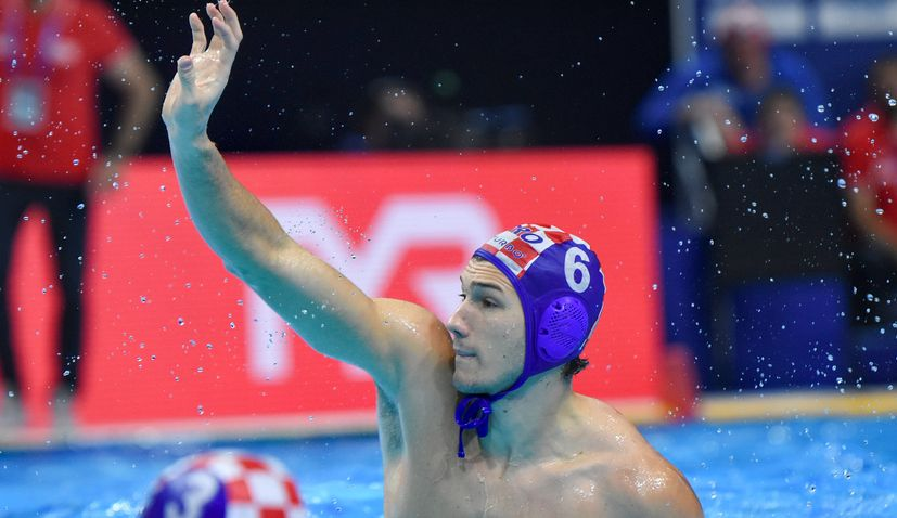Croatia thrash Slovakia to stay unbeaten at European Water Polo Champs