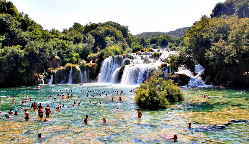 Swimming ban announced at Krka National Park