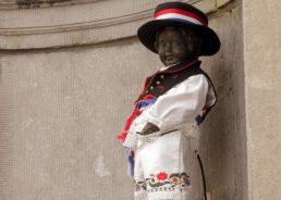 VIDEO: Manneken Pis statue dressed in Croatian folk costume