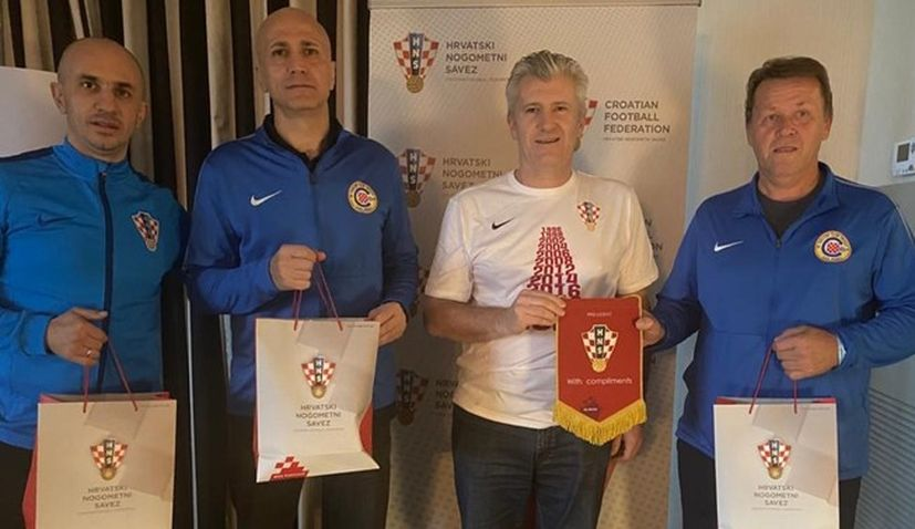 Croatian Football Federation visit the US to organise camp for first time
