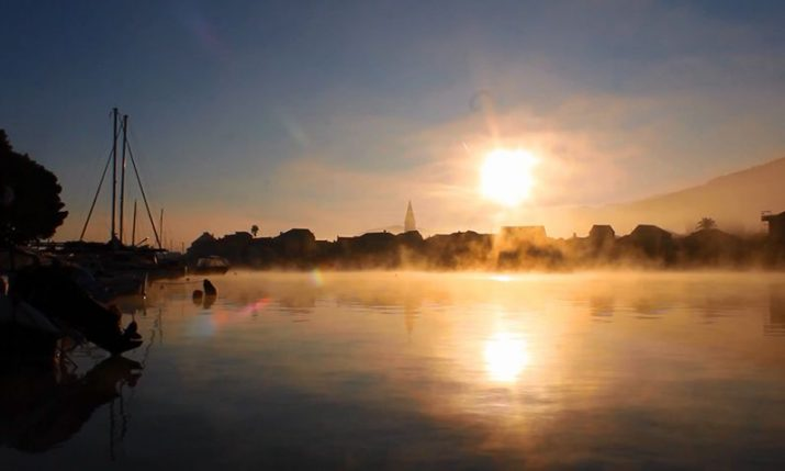 VIDEO: Stunning below zero sunrises in Stari Grad on Hvar island