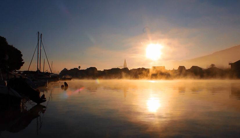 VIDEO: Stunning below zero sunrises in Stari Grad on Hvar island