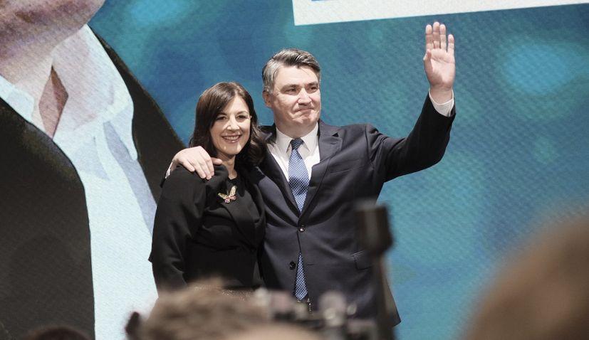 Zoran Milanovic elected new president of Croatia