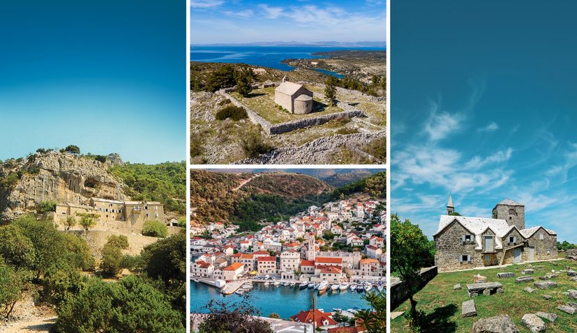 Brac island's new 135 km tourist trail connecting historical sites