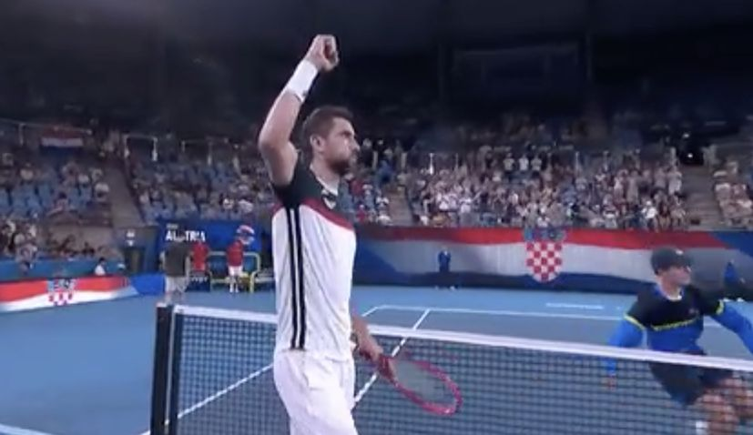 ATP Cup: Croatiaopens with victory over Austria