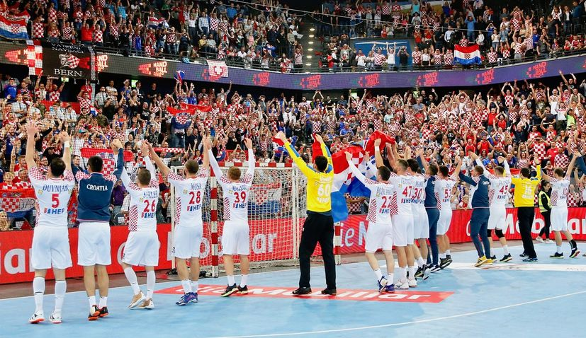 Croatia opens Handball EURO with victory over Montenegro