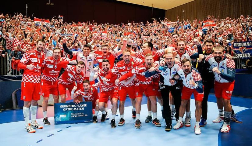 Handball Euro 2020 Croatia Beats Serbia To Remain Unbeaten