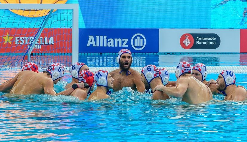 Croatian teams for European water polo champs named