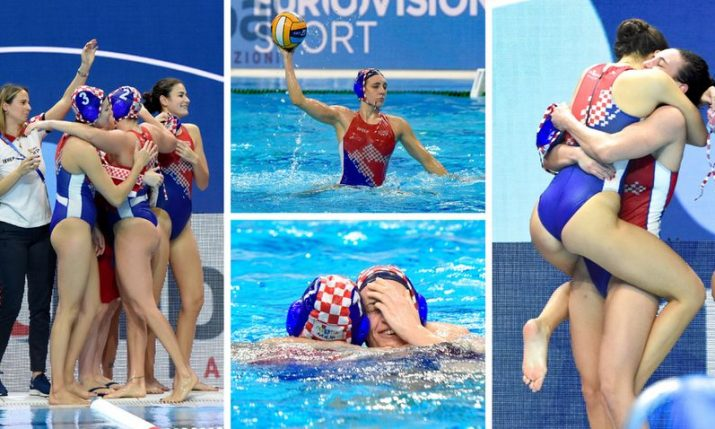Croatia beats Serbia to pave way for historic success at Women's Water Polo Euro