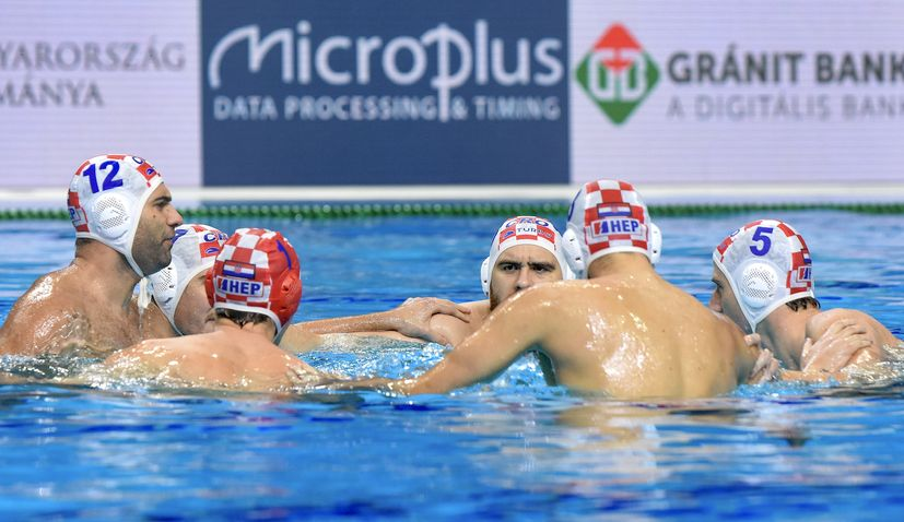 Croatia to play for bronze medal at European Water Polo Champs