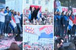 VIDEO: Thousands welcome Croatian handball team home in Zagreb