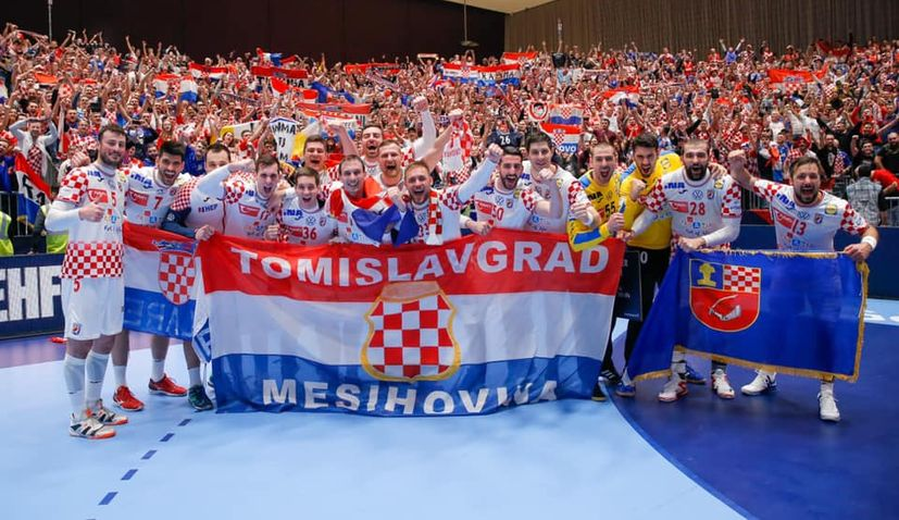 Handball Euro 2020 Croatia Beats Austria Croatia Week